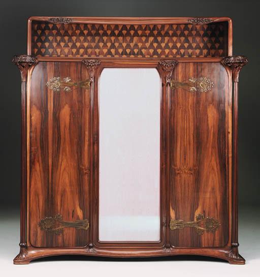 A Large Mahogany Cabinet