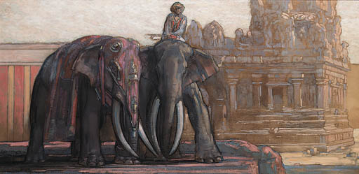 'THE ELEPHANT TRAINER'