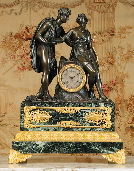 A French bronze and ormolu-mou