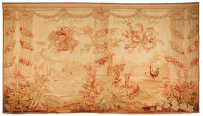 An Aubusson tapestry