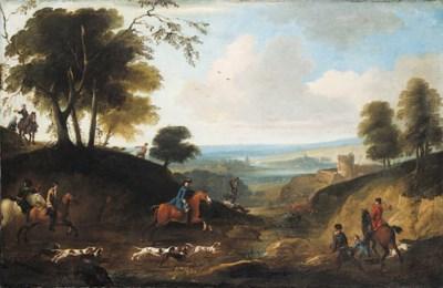 Studio of Jan Wyck (1645-1700)