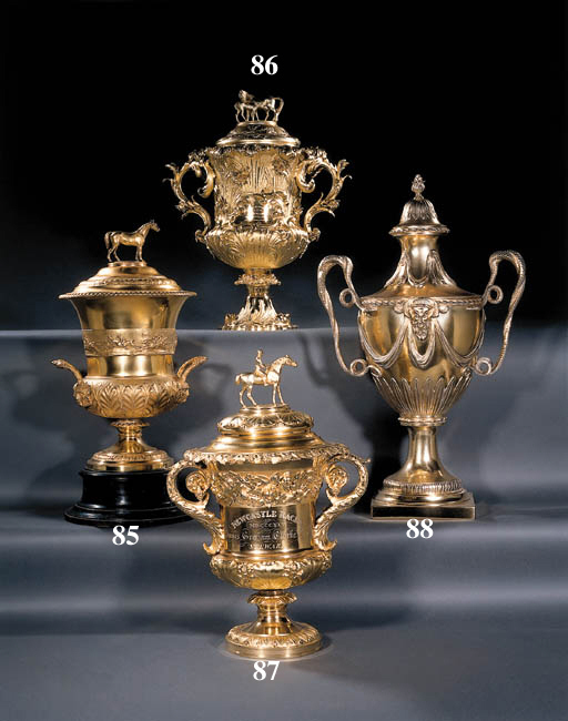 A William IV silver-gilt cup a