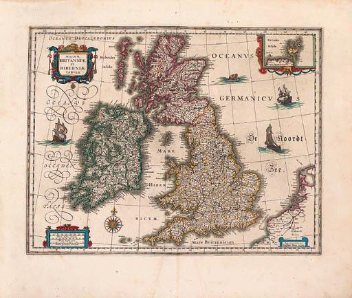 BLAEU, Johannes (1596-1673). N
