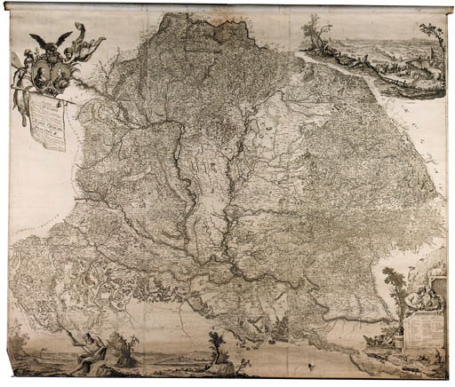 MLLER, Ign. Mappa geographica