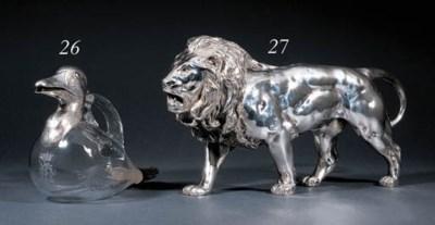 A German silver sculpture