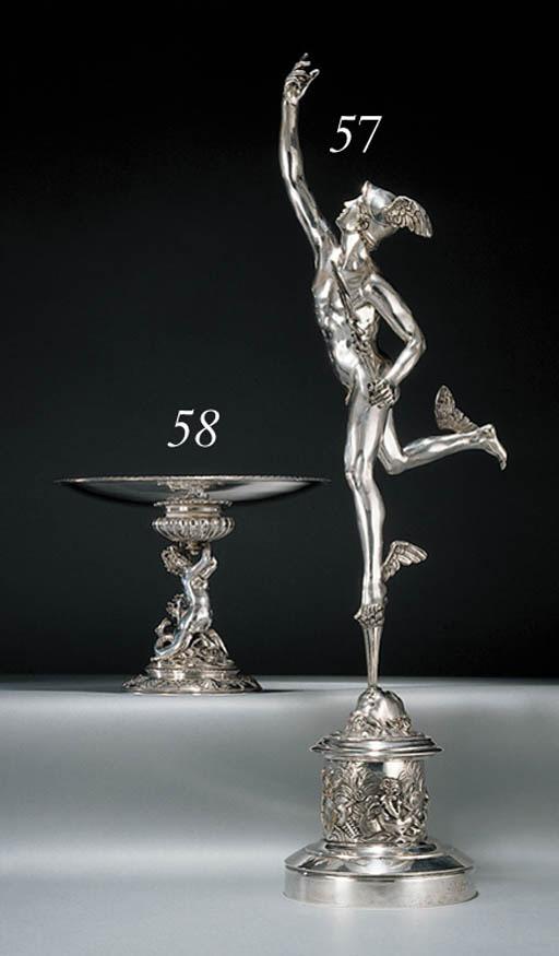 An Italian white-metal model o