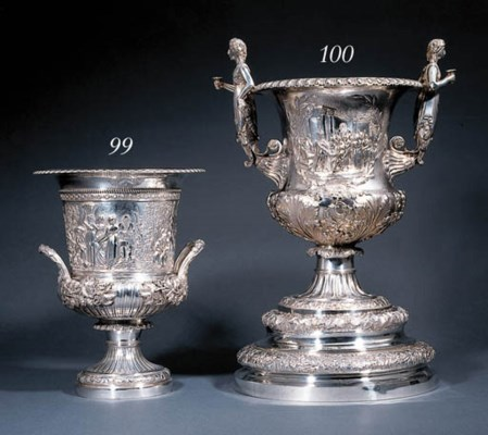 A William IV silver cup