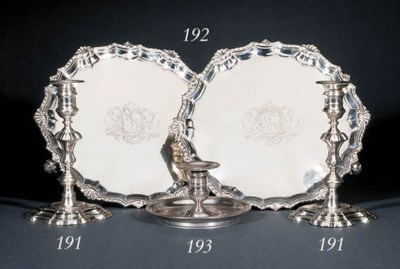 A George II silver chamber-can