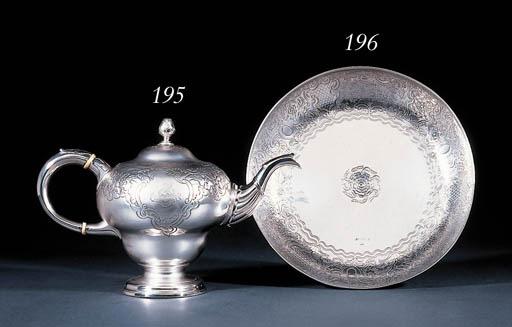 A George II Irish silver dish