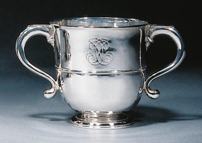 A George I silver two-handled