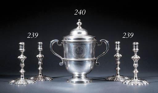 A George I Irish silver cup an