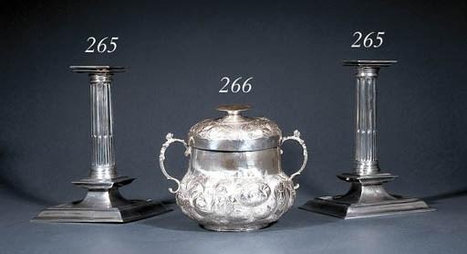 A Charles II silver porringer