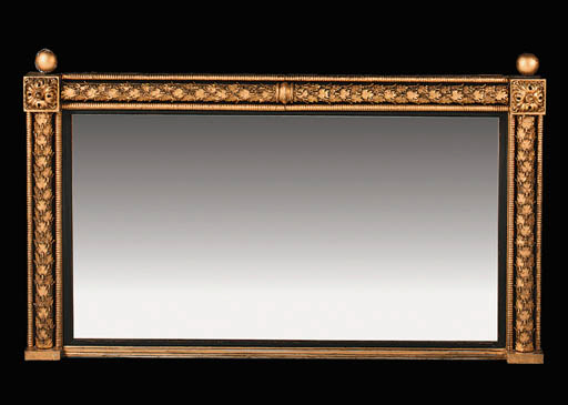 A WILLIAM IV GILTWOOD, GILT-CO
