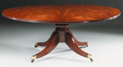AN IRISH REGENCY MAHOGANY BREA