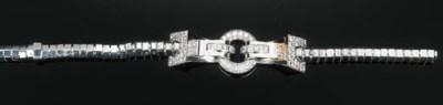 A Diamond-set Necklace by Cart