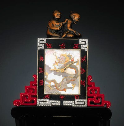 An Art Deco Mother-of-Pearl an