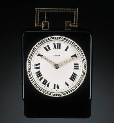An Art Deco Enamel and Diamond