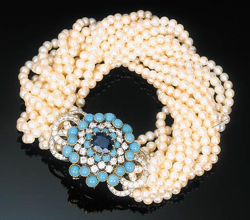 A Cultured Pearl, Sapphire, Tu