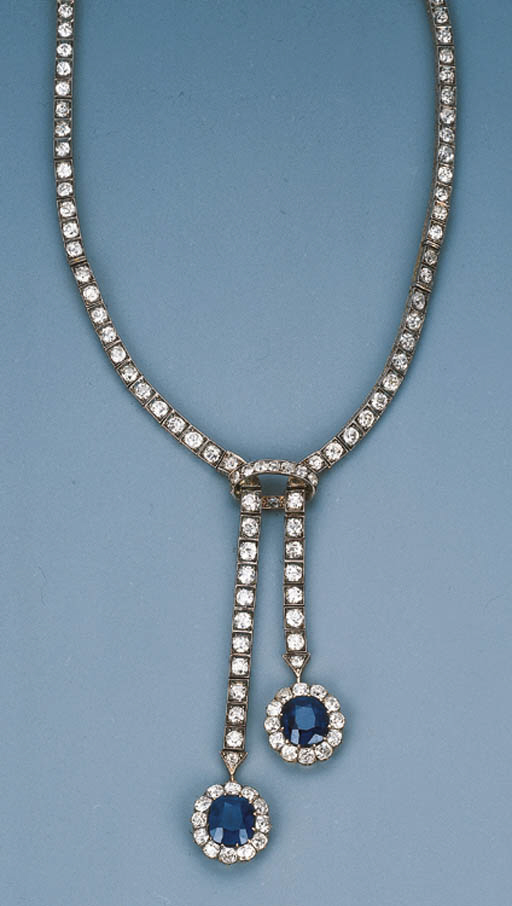 A Sapphire and Diamond Nglige