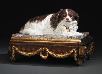 A LOUIS XV SEVRES MODEL OF A S