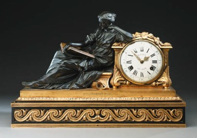 A LATE LOUIS XV GILT-BRONZE, B