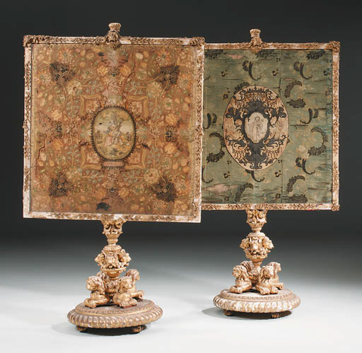 A PAIR OF GEORGE IV GILTWOOD A
