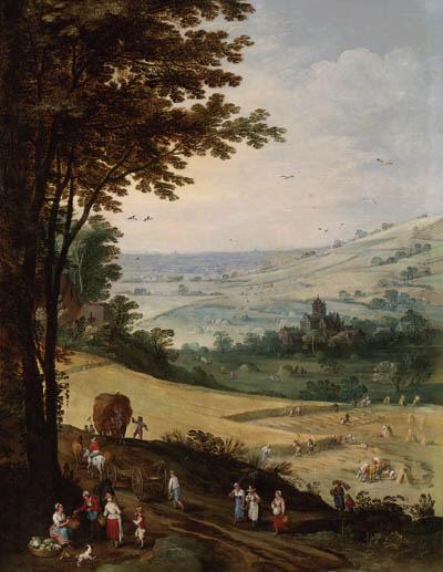 Joos de Momper II (Antwerp 1564-1635) and Jan Brueghel I (Brussels 1568-1625 Antwerp)