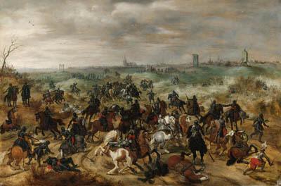 Attributed to Sebastien Vrancx (Antwerp 1573-1647)