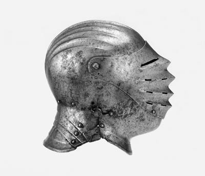 A German Close-Helmet Of 'Maxi