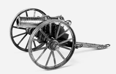 A Model Of 'The Wolf' Howitzer Of Mafeking