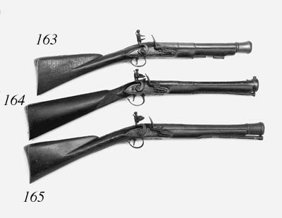 A Brass-Barrelled Flintlock Bl