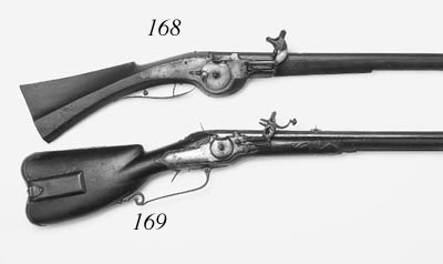 A 28-Bore German (Kassel) Wheel-Lock Sporting Rifle (Mller-Bchse)