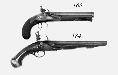 A Pair Of 16-Bore Flintlock Pi