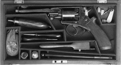 A Cased 54-Bore Beaumont-Adams