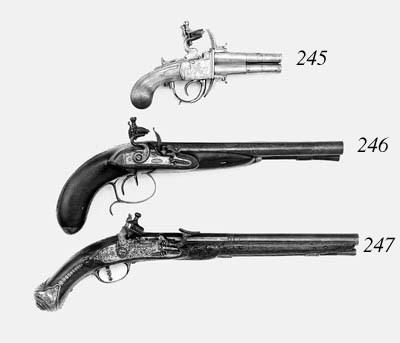 A Pair Of 140-Bore Lige All-St