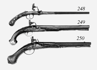 A Pair Of 34-Bore German Rifle