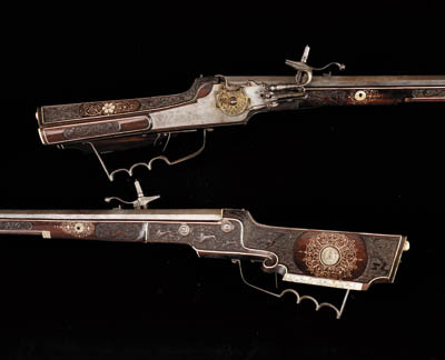 A Fine Pair Of 38-Bore Austria