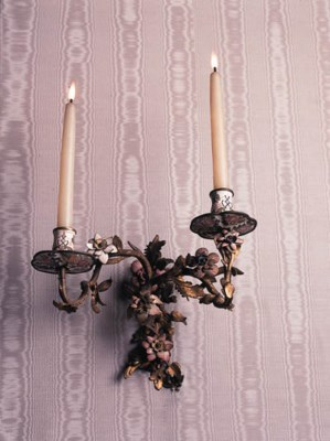 A PAIR OF VIENNESE ORMOLU AND