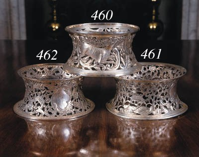 A George III Irish silver dish