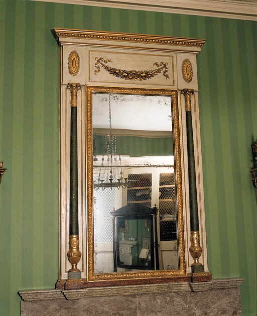 A BALTIC GILTWOOD AND GRAINED