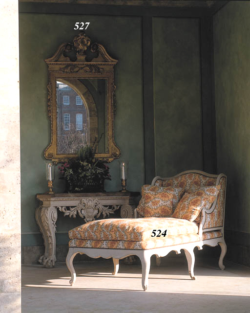 A PAIR OF GEORGE II PICTURE-FR