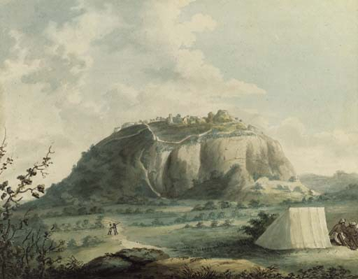 Lt. James Hunter (circa 1740-1