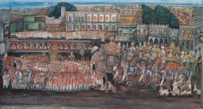 Lucknow School, circa 1850