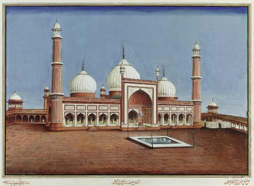 Delhi School, circa 1860