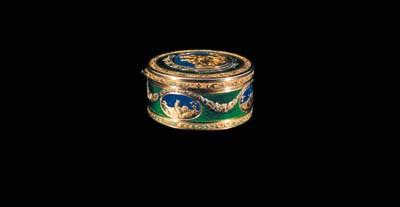 A SWISS ENAMELLED VARI-COLOURE