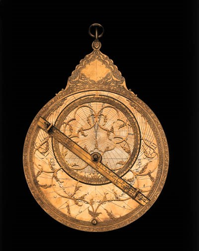AN PERSIAN ASTROLABE BY 'ABD A