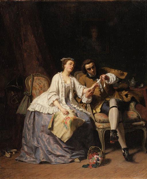 Louis Coulon (Belgian, 1820-18