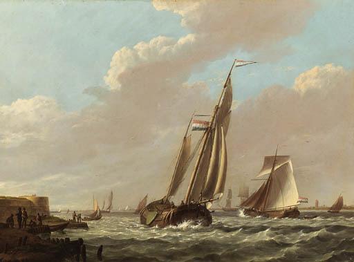 Jan Hermanus Koekkoek (Dutch,