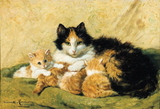 Henriette Ronner-Knip (French,