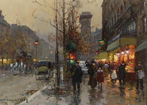 Edouard-Lon Corts (French, 188